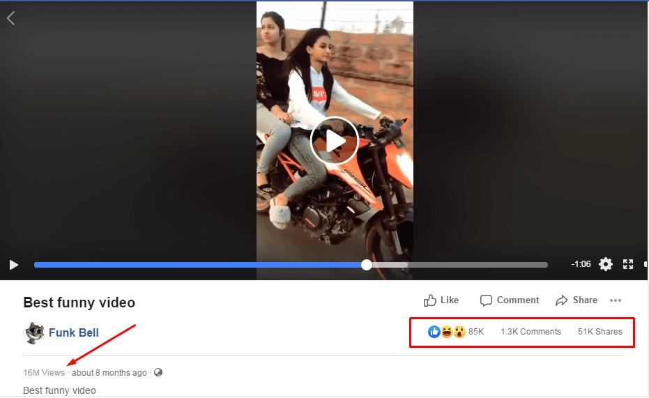 buy facebook video views cheap price