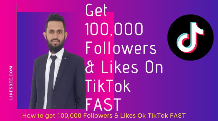 get likes and followers on tiktok