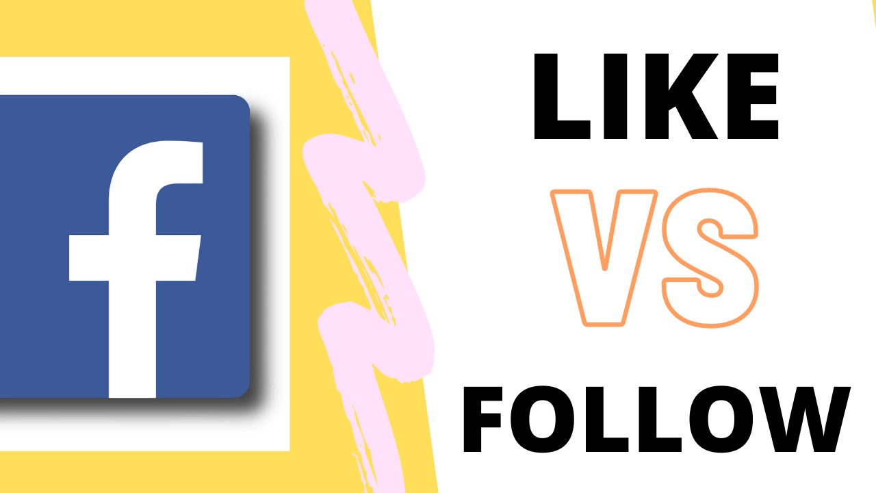 DIFFERENCE BETWEEN LIKE VS FOLLOW