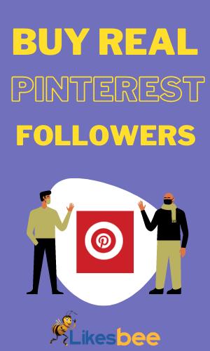 Buy real Pinterest followers